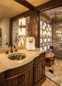 Rustic Elegant Bath