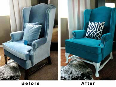 Diy Friday Painting Upholstered Furniture