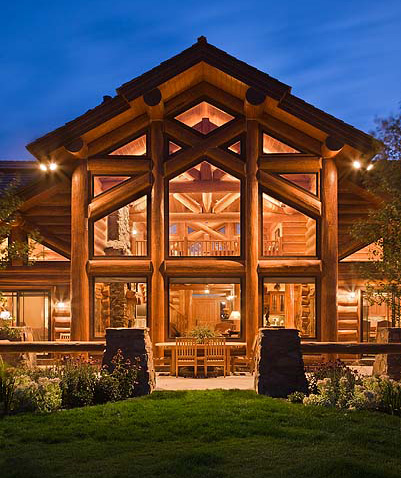 July Is National Log Home Open House Month