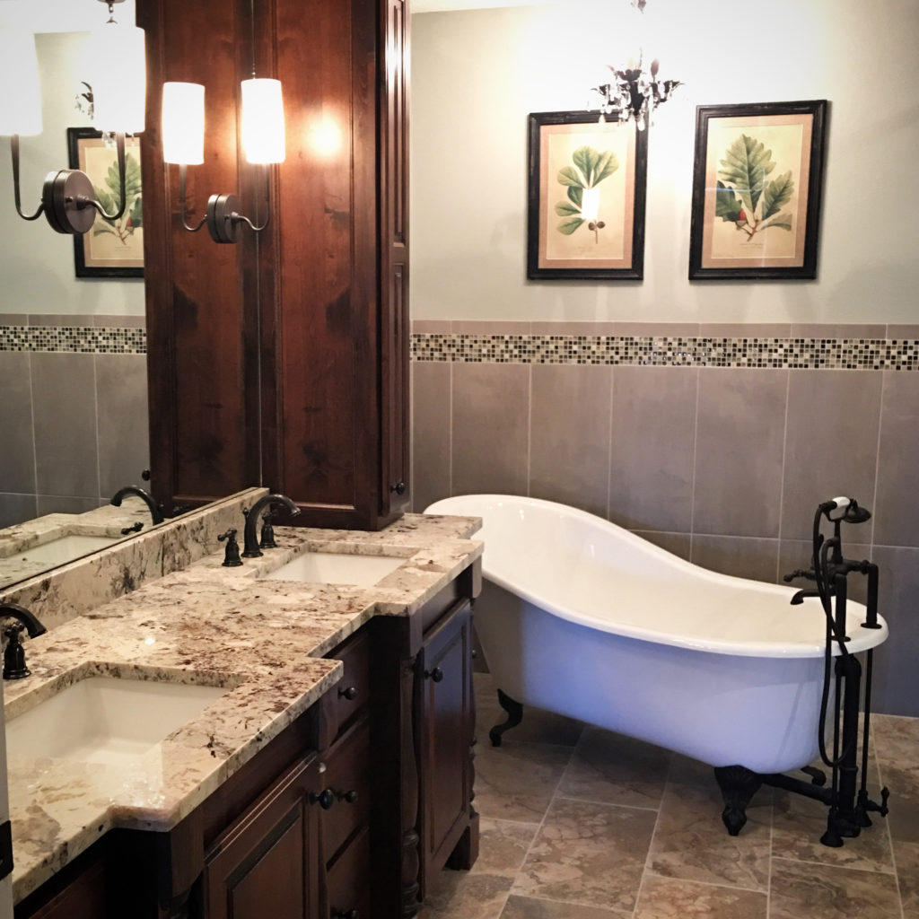 Vintage Spa Bathroom 2