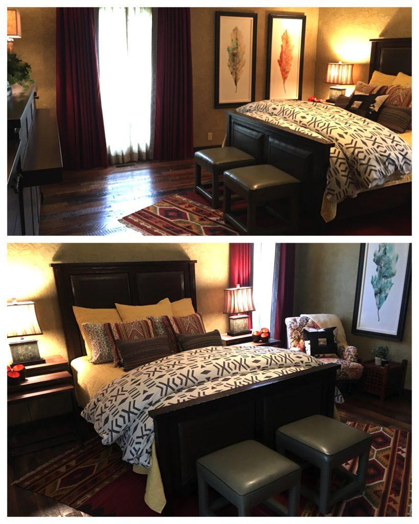 Rustic Bohemian Guest Bedroom 1