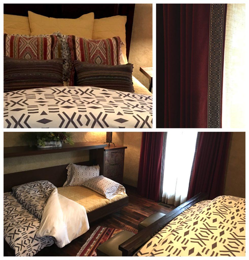 Rustic Bohemian Guest Bedroom 2