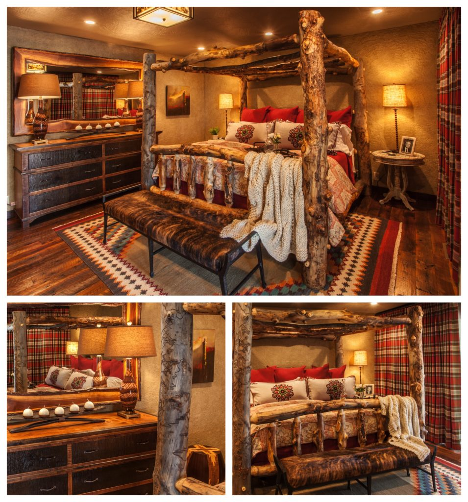 Rustic Master Bedroom 1