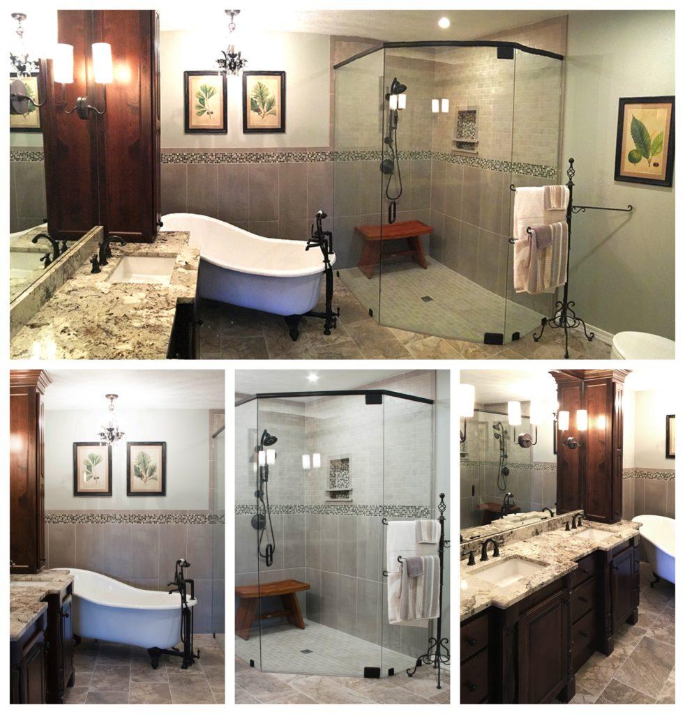 Vintage Spa Bathroom 1