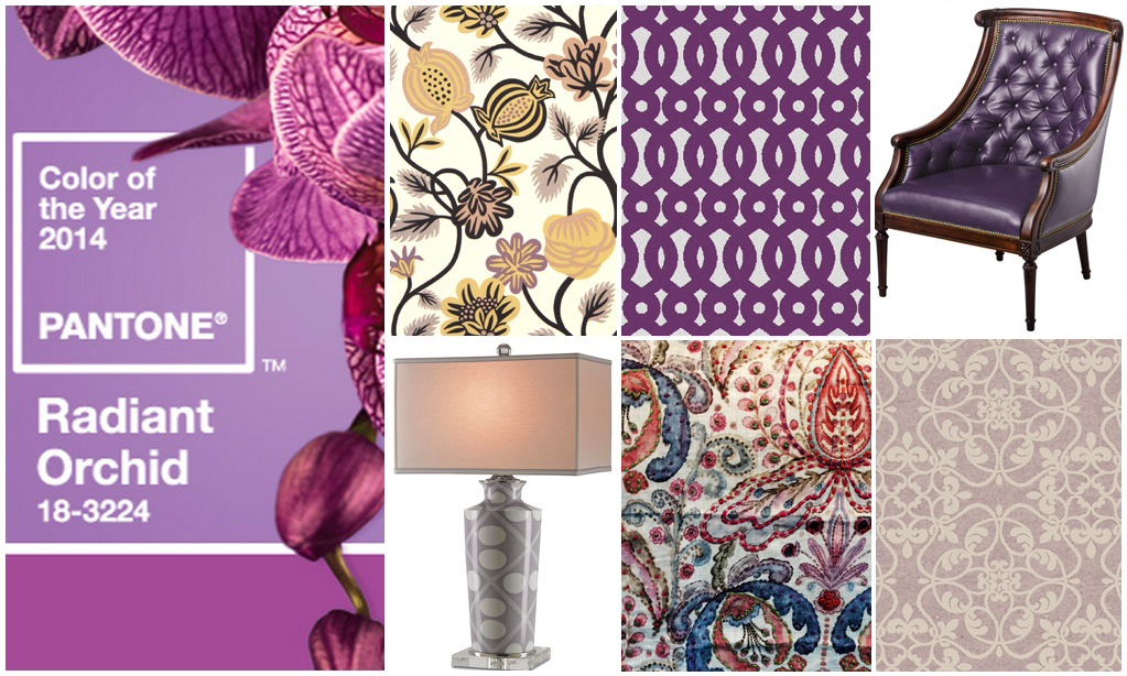 2014 Color of the Year: Radiant Orchid « Gina McMurtrey Interiors ...