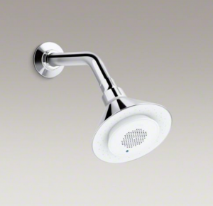 Moxie Showerhead with speaker
