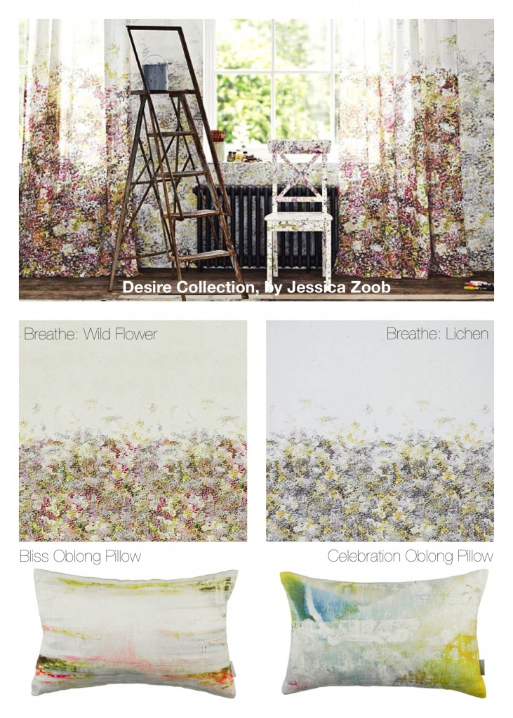 Watercolor Impressionist Fabric & Wallcovering