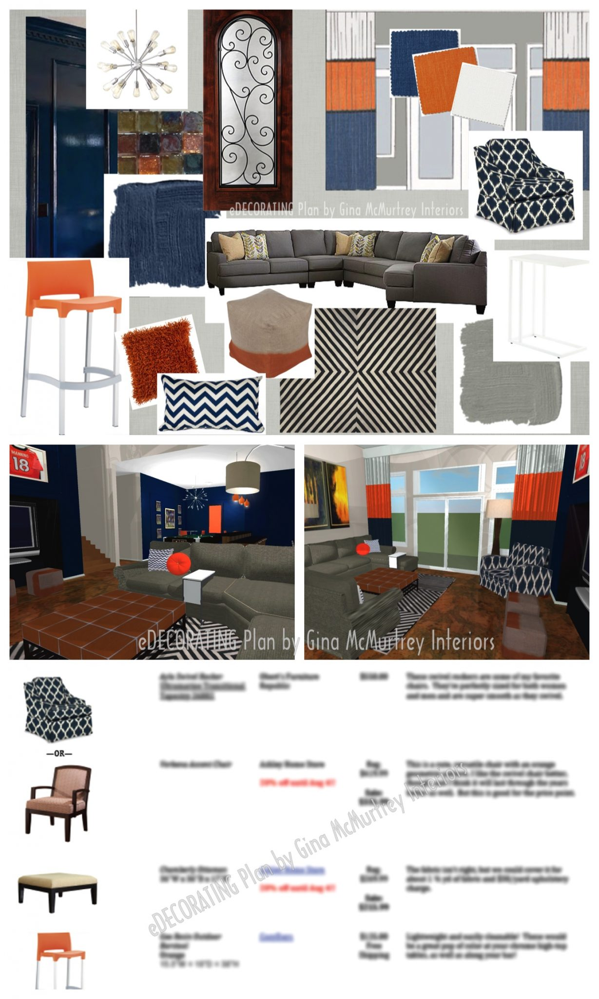 Affordable Interior Design Help For The DIYer Is Available Through EDECORATING