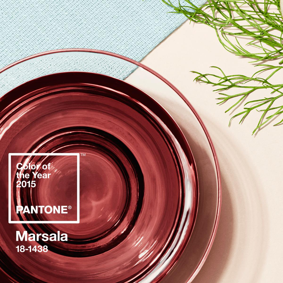 Marsala Is The Pantone Color Of The Year For 2015