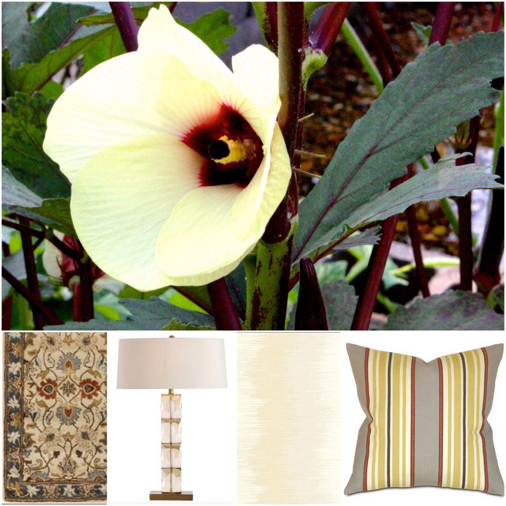 Okra Flower Color Inspiration