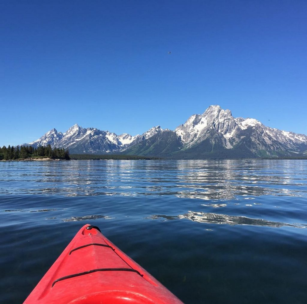 Whether it's on Table Rock Lake or in the Grand Tetons, I love to kayak. It forces me to slow down, and we could all use more of that.