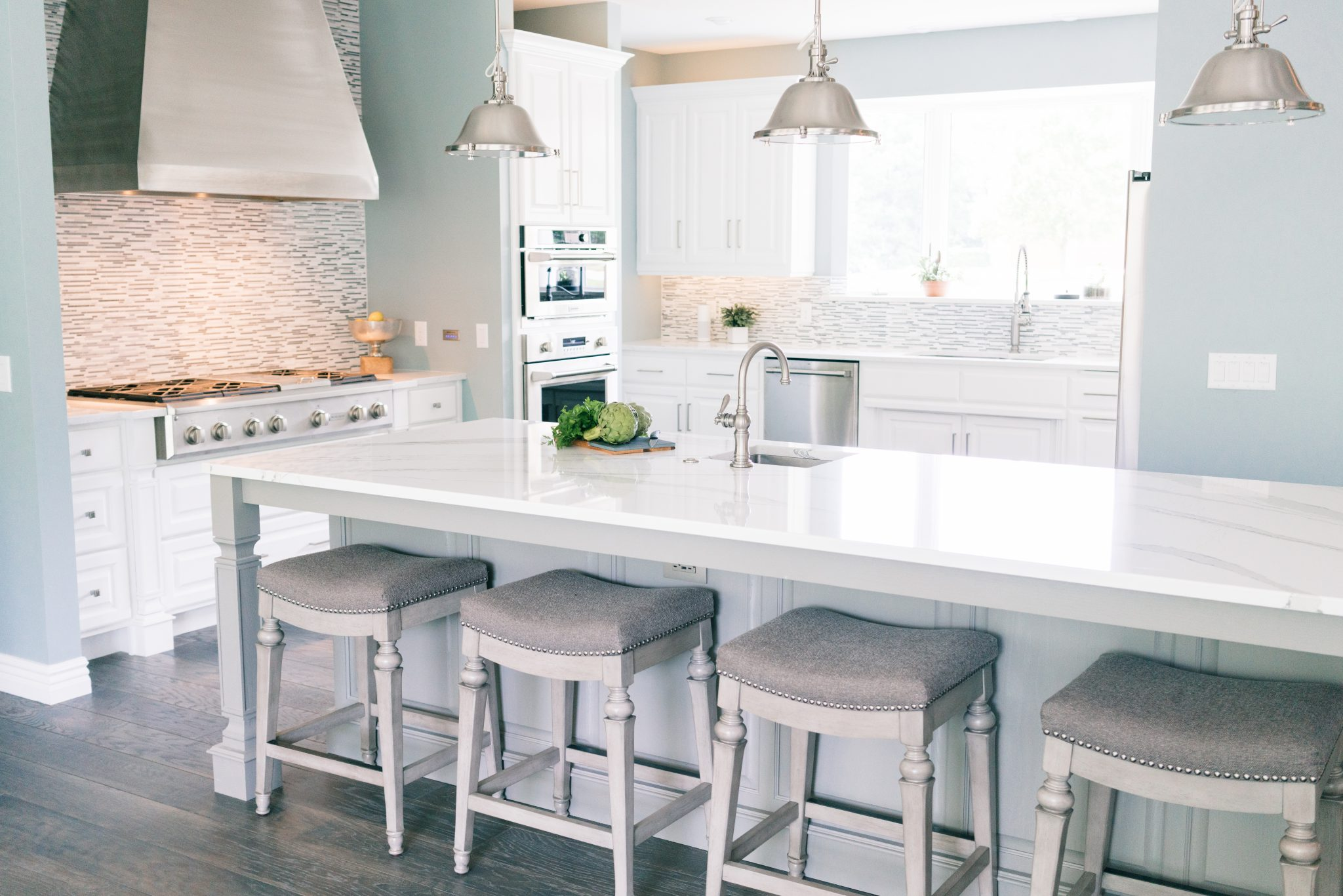 Bright Open Kitchen Gina Mcmurtrey Interiors Llc