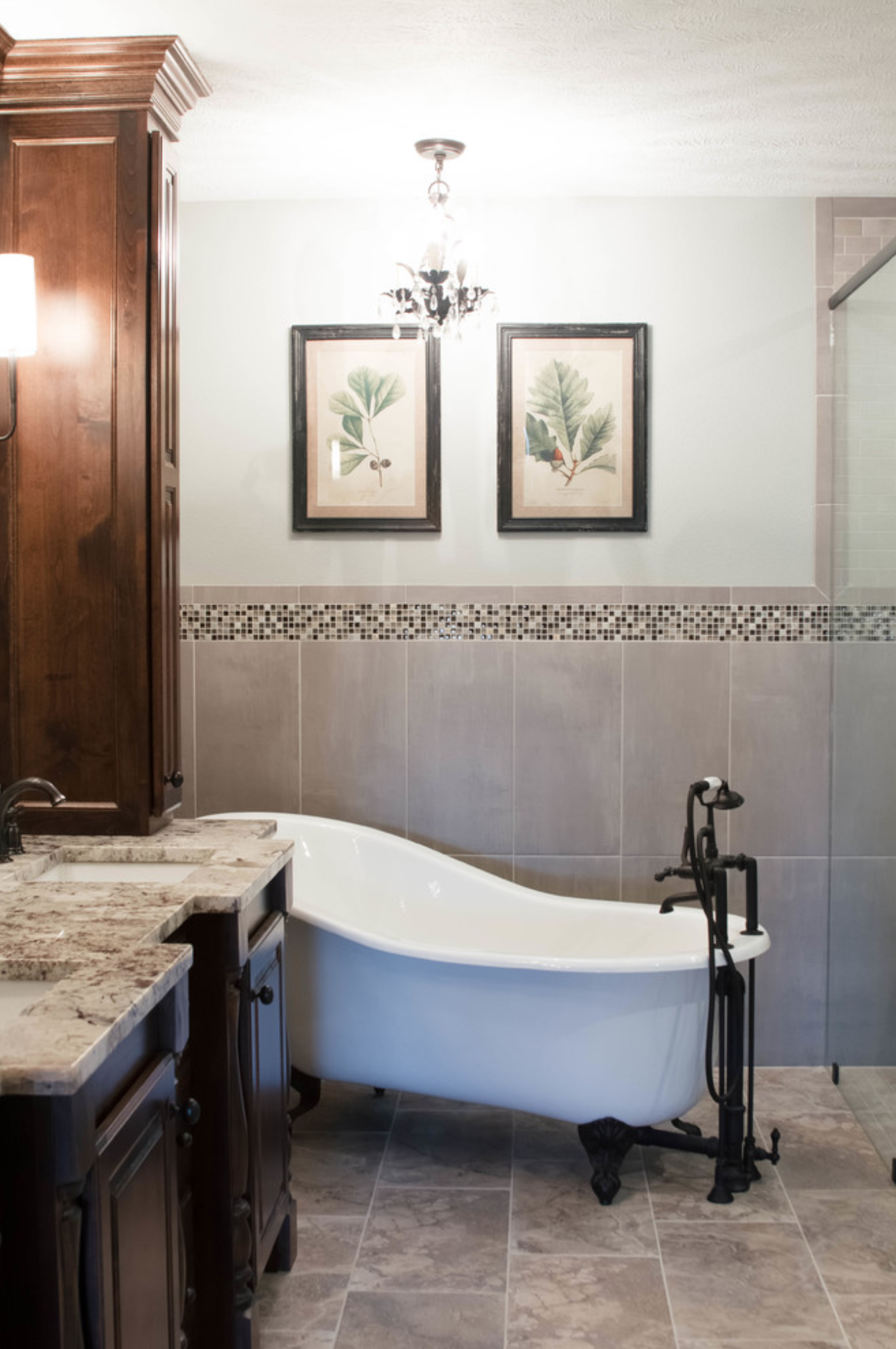 Southwest Missouri Traditional Spa Master Bath – Gina
